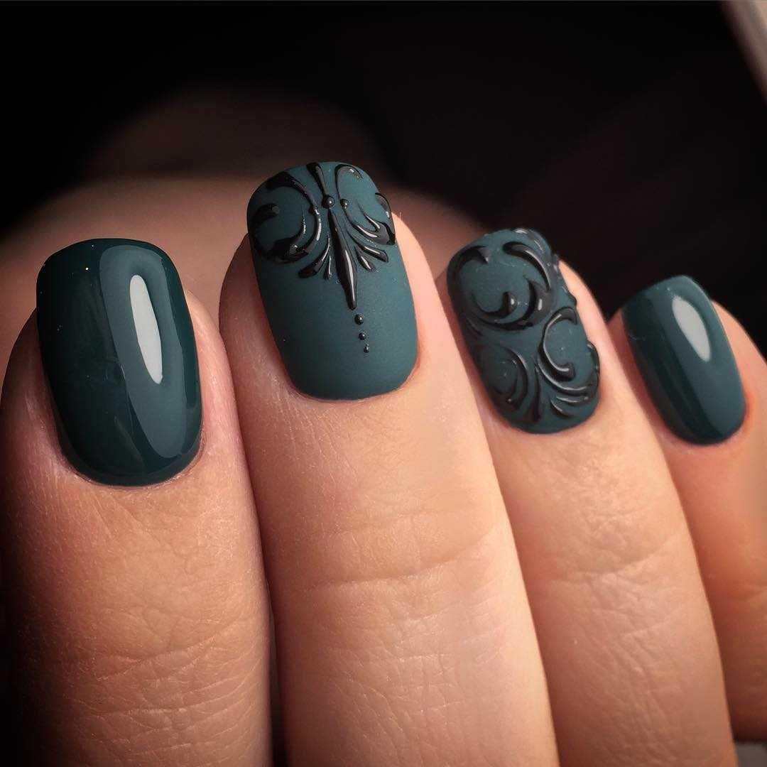 Острые Ногти Дизайн Фото Французский Маникюр