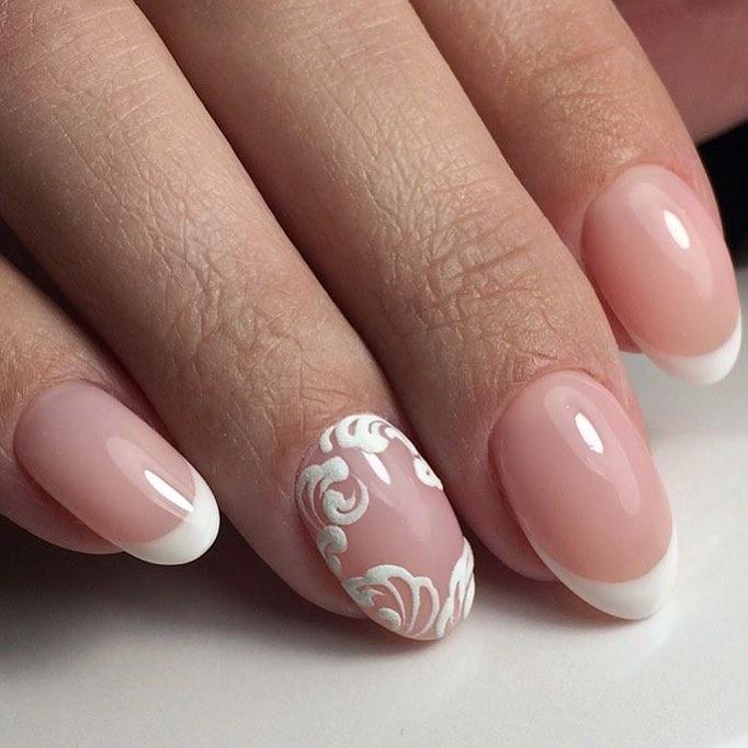 Маникюр на овальные ногти