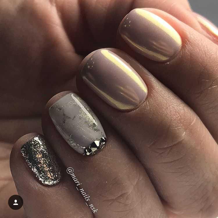 Шеллак На Совсем Короткие Ногти Фото