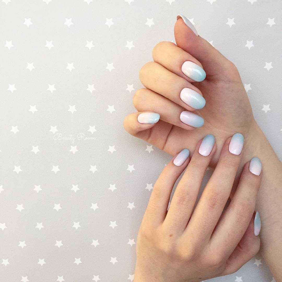 весенний маникюр на длинные ногти