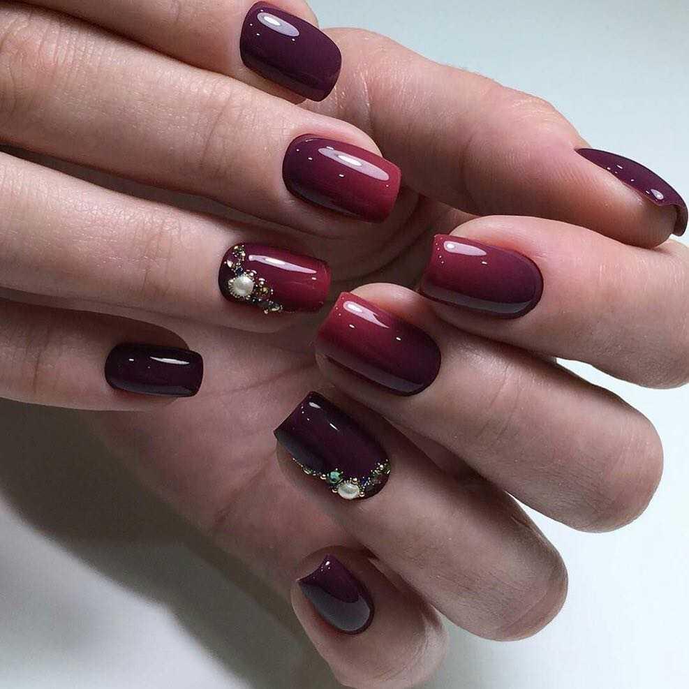 Как сделать омбре на ногтях фото пошагово фото 978