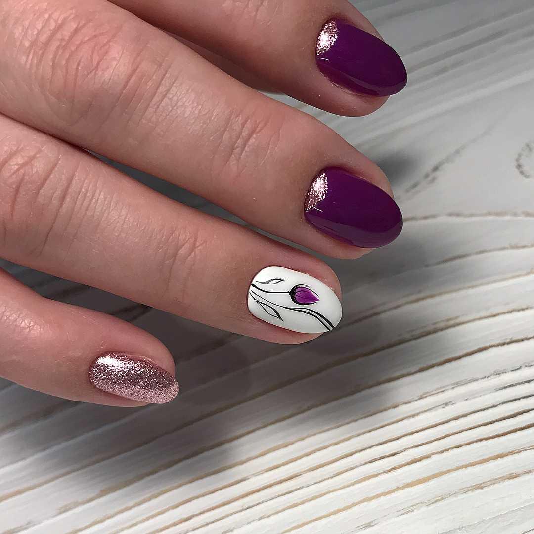 Образцы Маникюра Шеллак Фото На Длинные Ногти