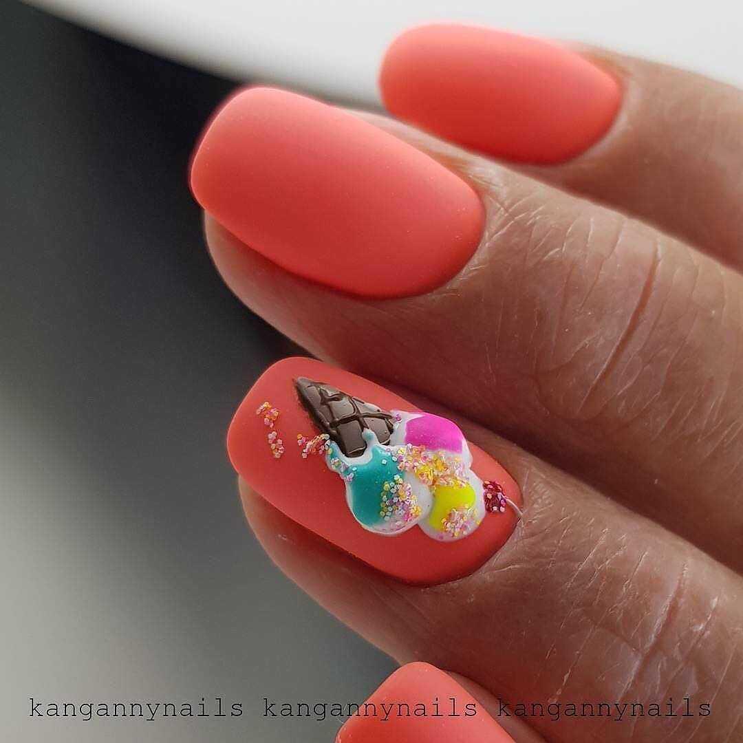 обьемные рисунки на ногтях