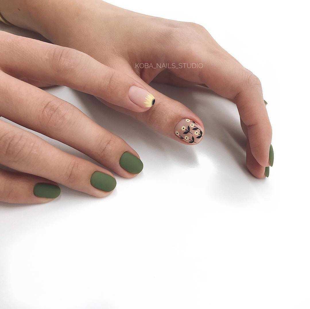 маникюр на очень маленькие ногти