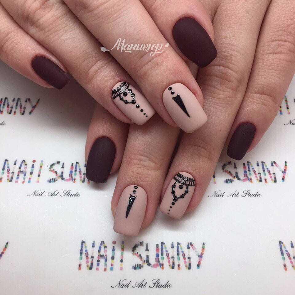 Рисунки дотсом на ногтях пошагово (схемы + фото) | ProstoNail