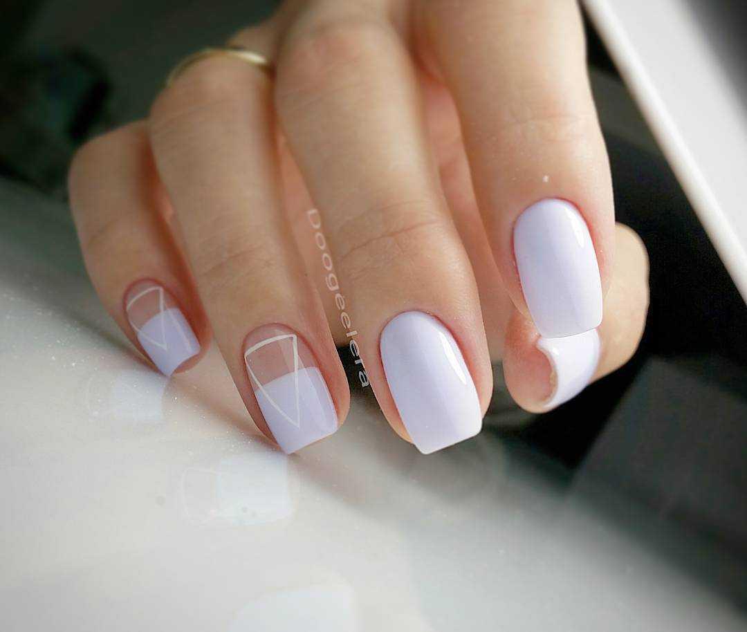 Маникюр На Короткие Ногти Фото Дизайн Осень