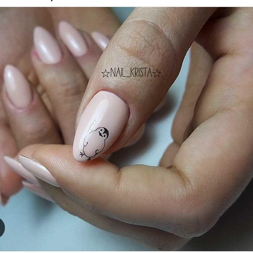 рисунки на ногти фото простые