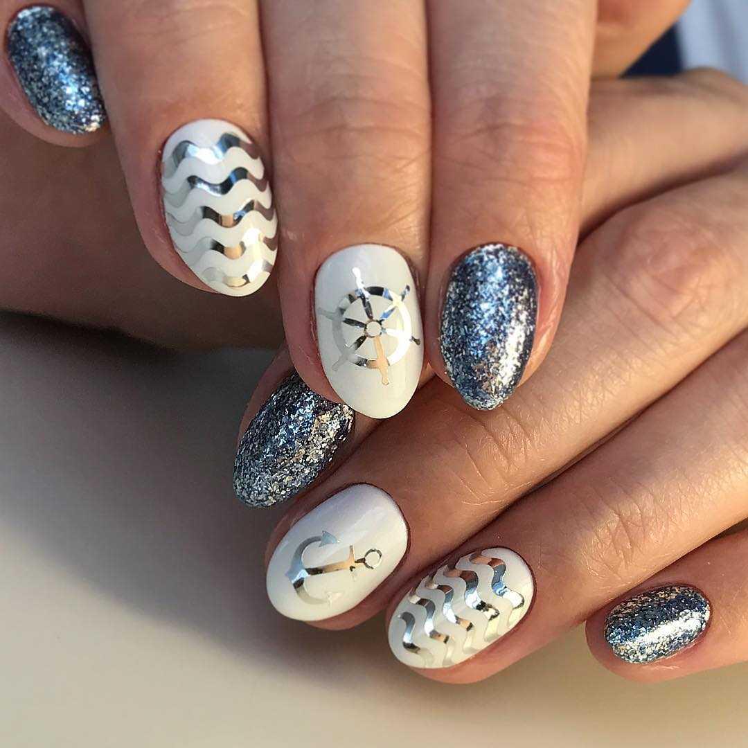 красивый дизайн ногтей на море - Тюменский издательский дом