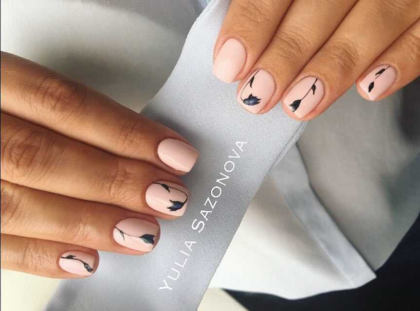 рисунки на ногтях своими руками