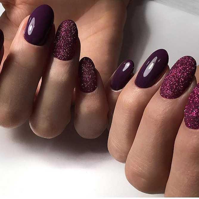 ультрафиолетовые ногти