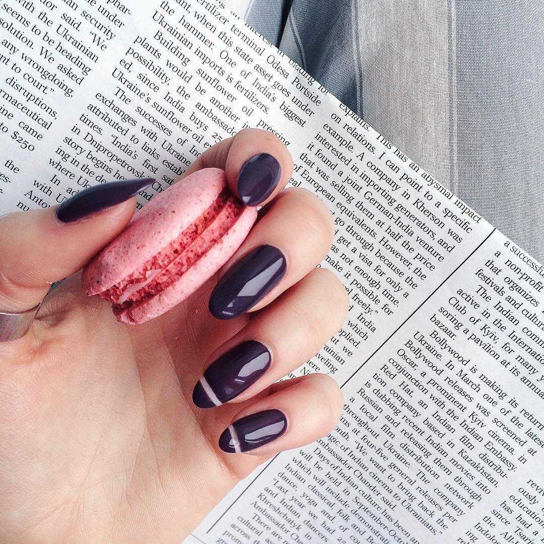как фотографировать ногти с бликами