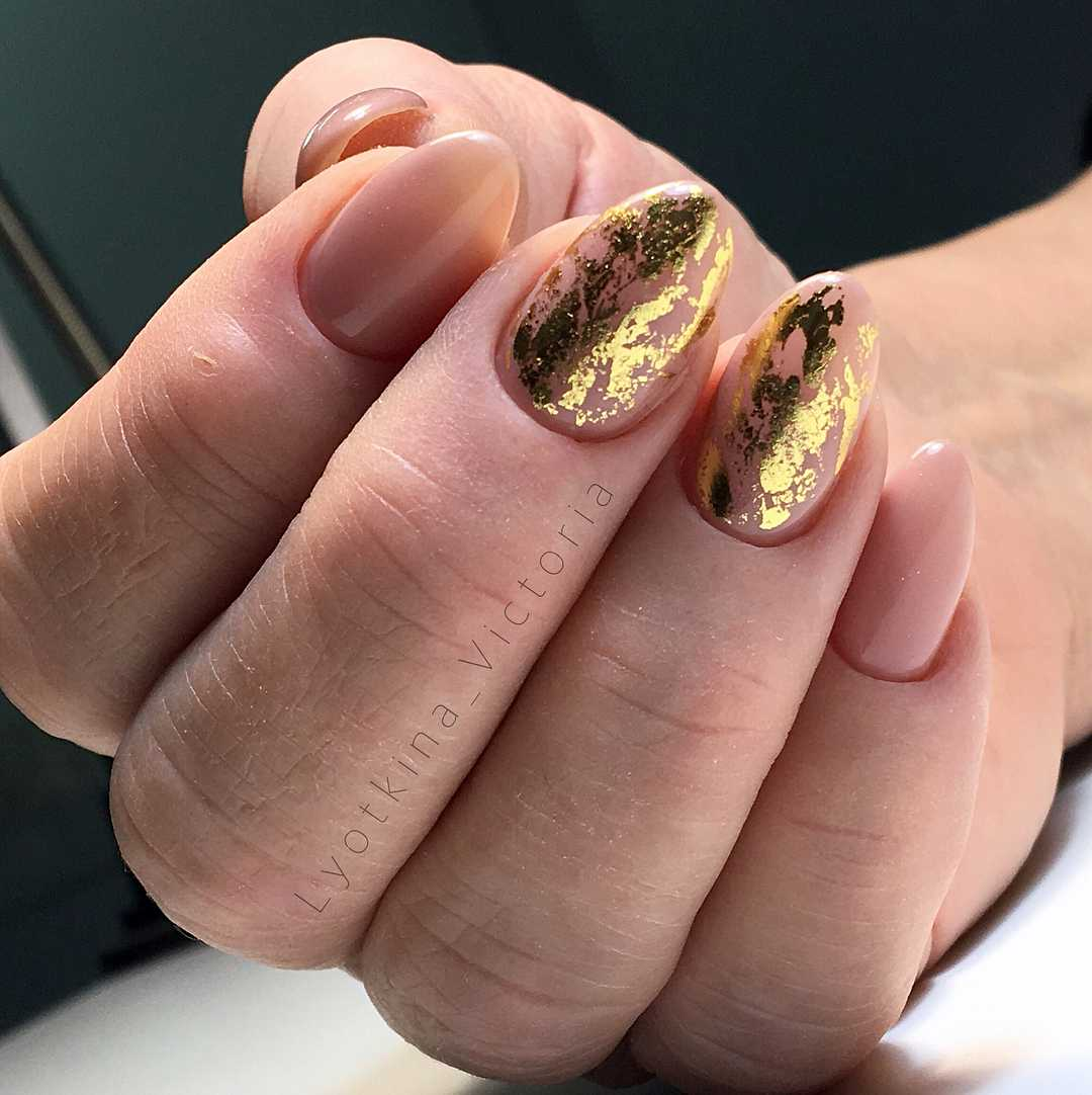 сухая слюда для ногтей