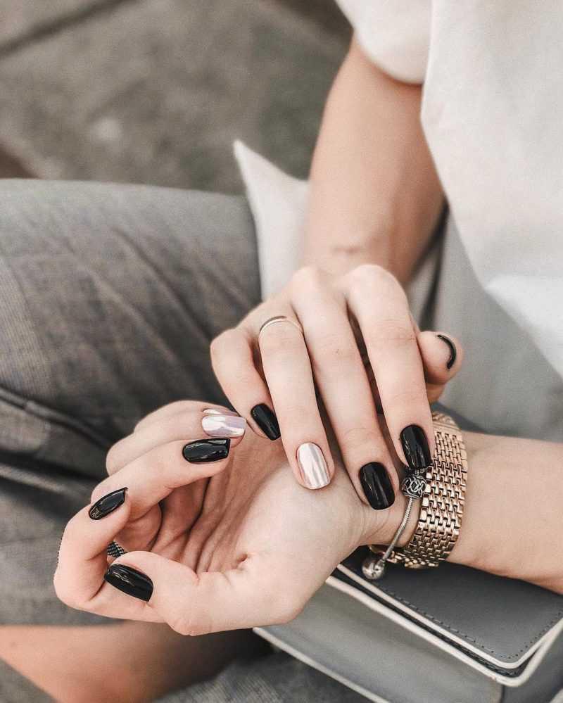 Шеллак Дизайн На Короткие Ногти Вензеля Бордовые