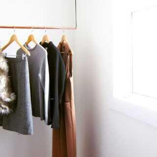 Минимализм в шкафу