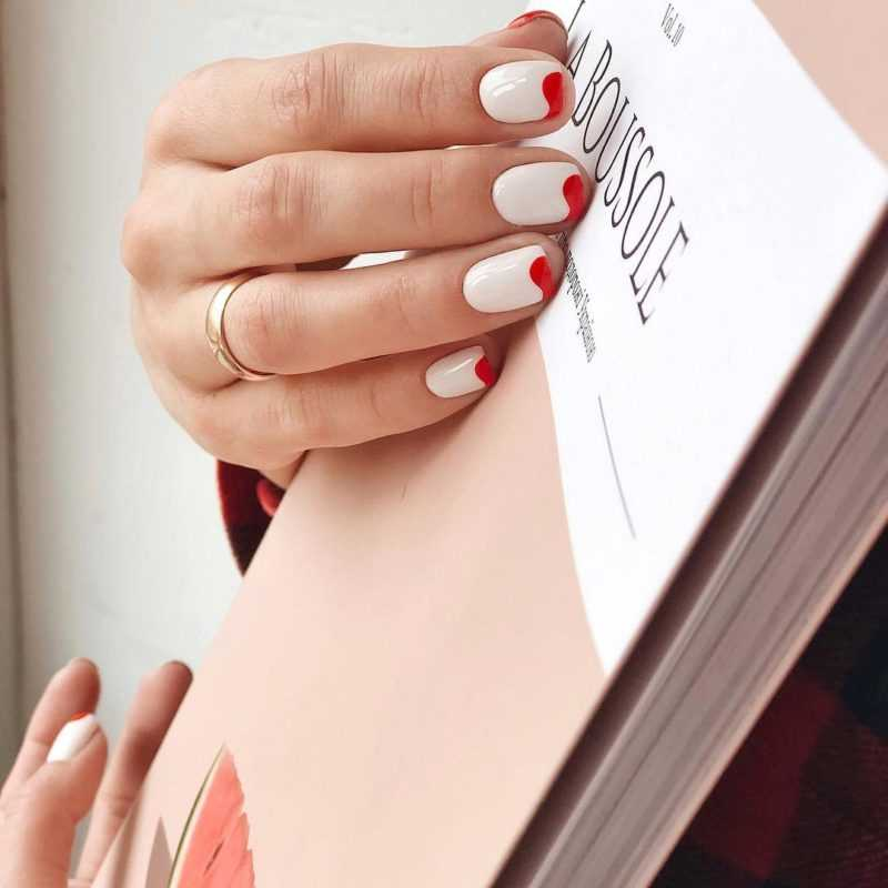 Гель Лак На Короткие Ногти Фото
