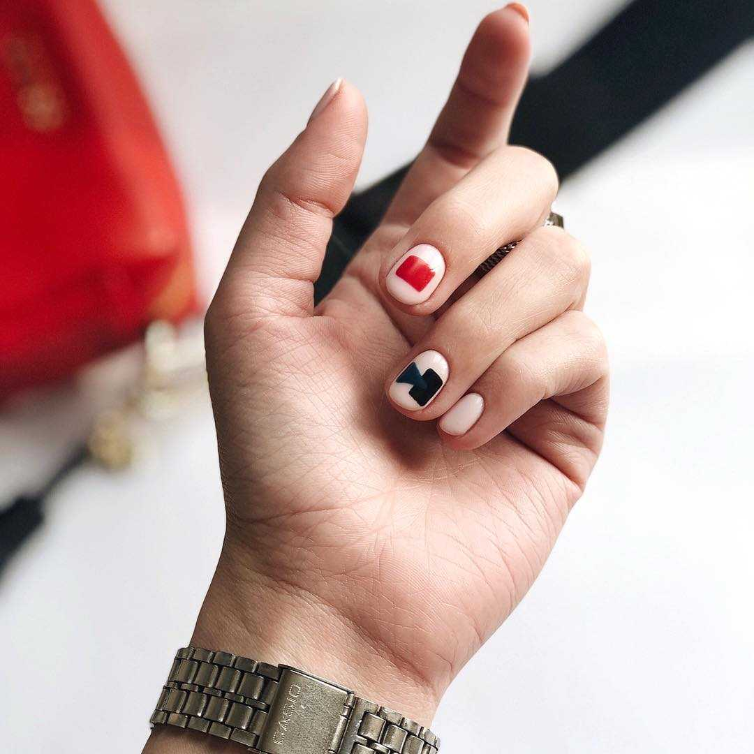 Летний Дизайн Коротких Ногтей Фото