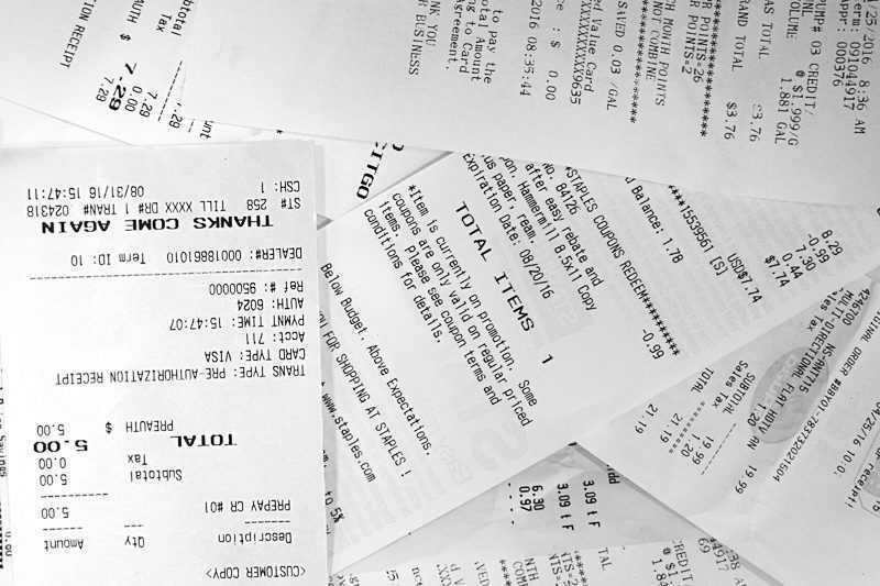 Почему чеки не перерабатываются