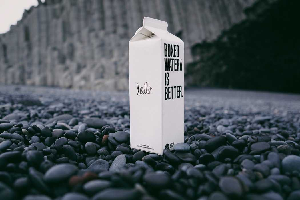 Boxed Water Tetra Pak