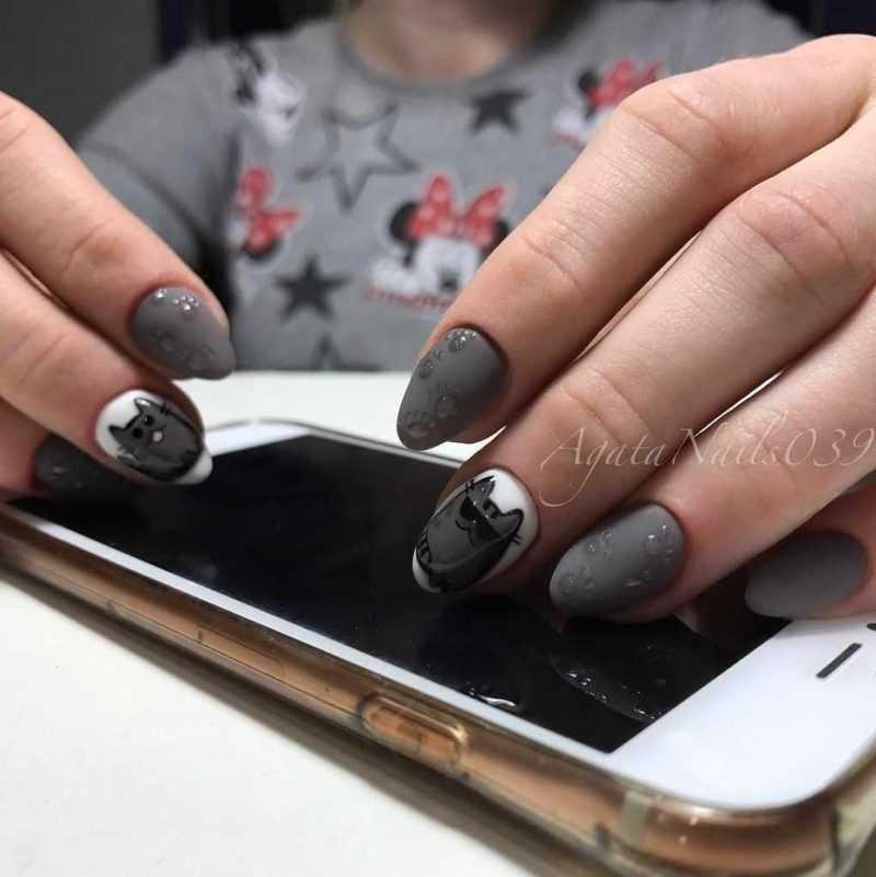 grey-nail-101