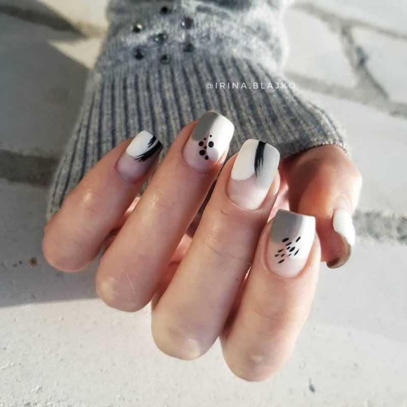 grey-nail-138