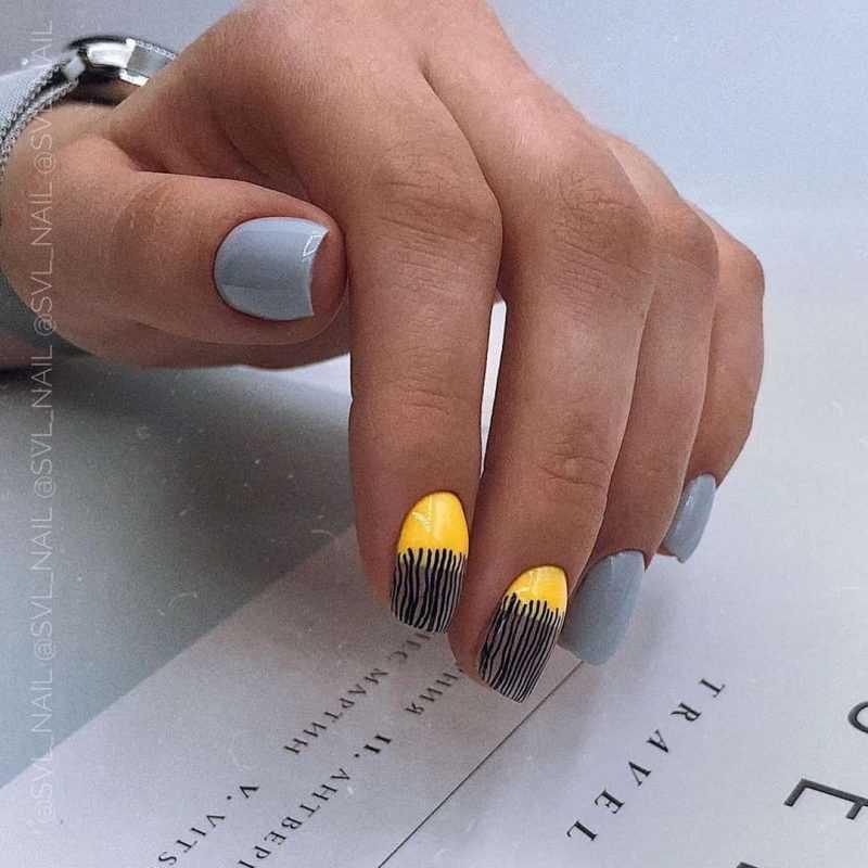 grey-nail-77