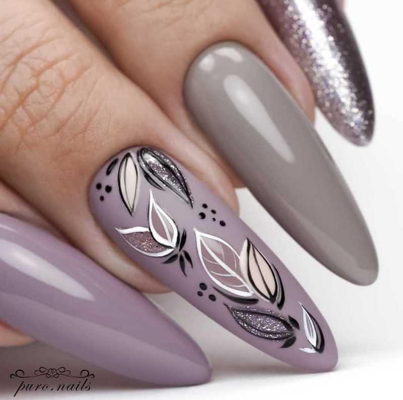 grey-nail-89