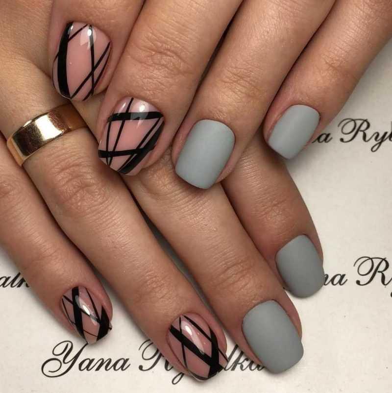 grey-nail-99