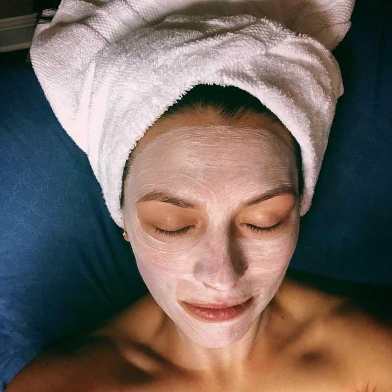 содовая маска для лица