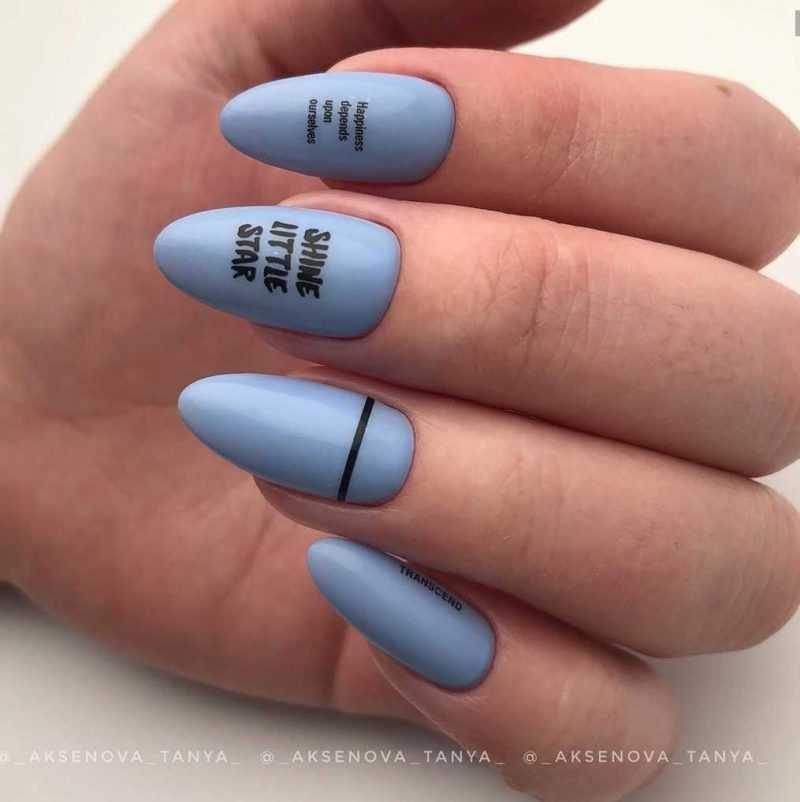 слайдеры на длинных ногтях