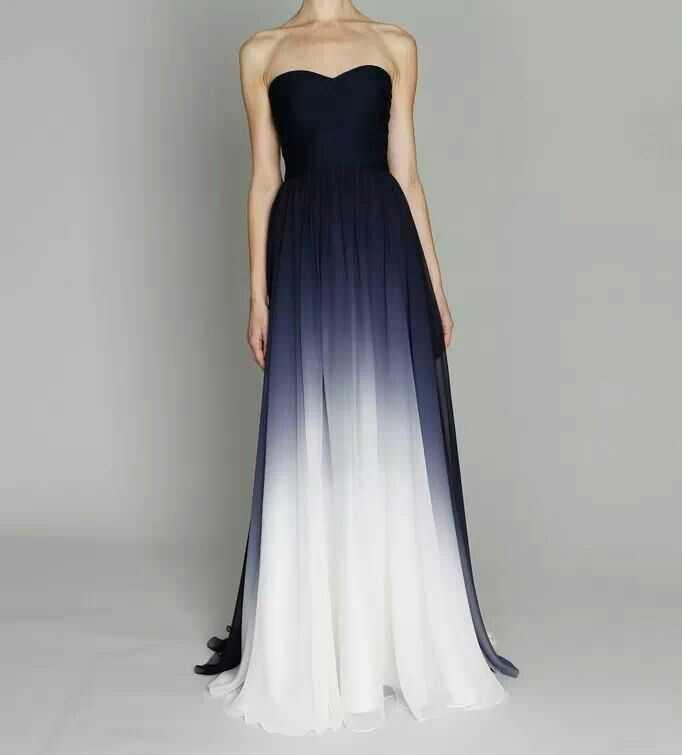Платье градиент