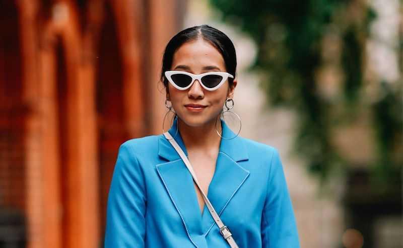 Узкие блогерские очки