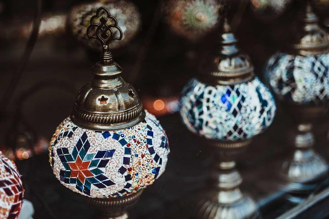 Арабская ночь фонарики
